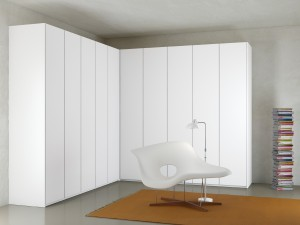 Atlante Sheer Hinged Door Wardrobe