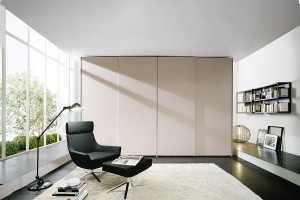 Atlante Sheer Sliding Door Wardrobe