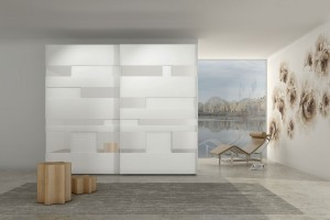 Miis Graff Sliding Door Wardrobe