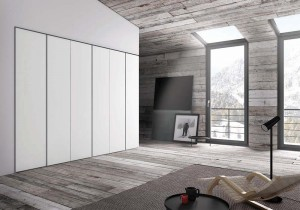 Nastro Hinged Door Wardrobe